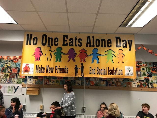 Sign in Cafeteria