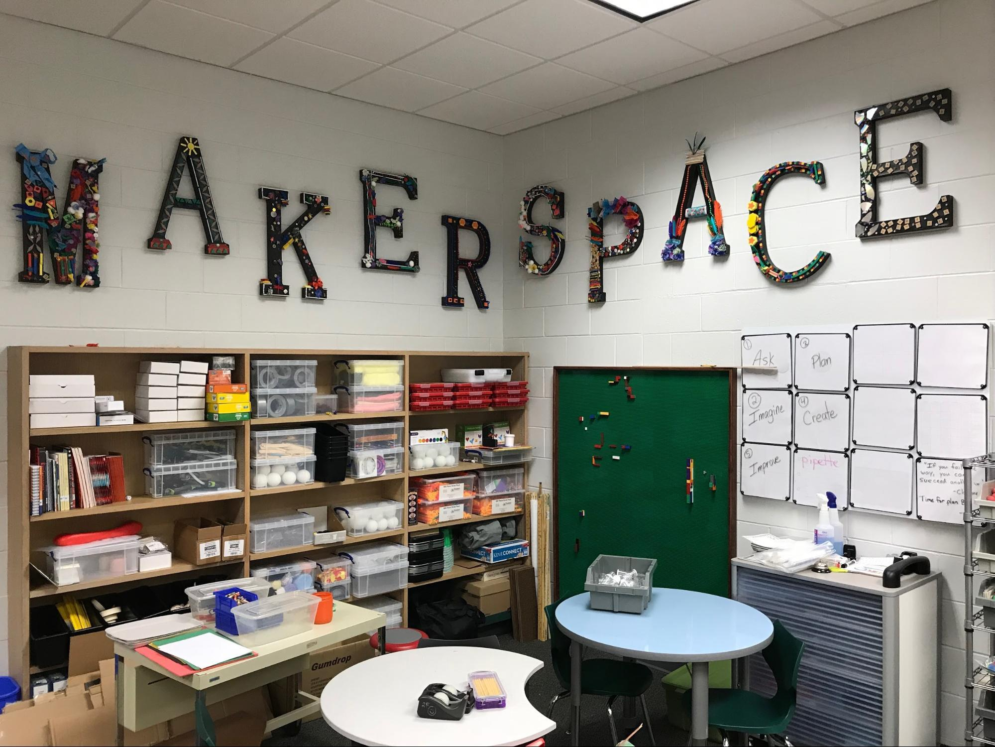 maker space sign